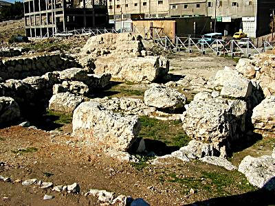 Porte du Bronze Moyen à Sichem
