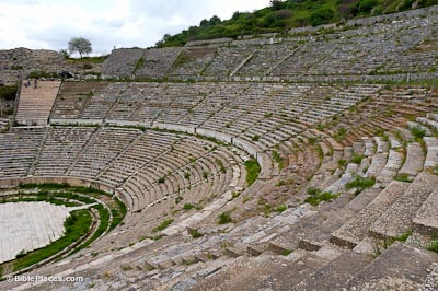 Ephesus-Great-Theater,-tb041405359-bibleplaces